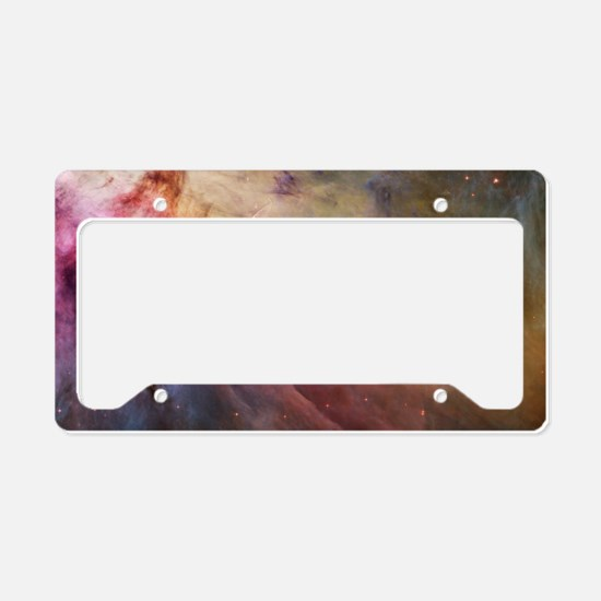 Orion Nebula interior License Plate Holder