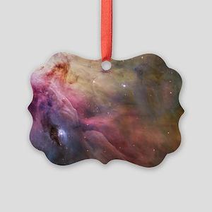Orion Nebula interior Picture Ornament