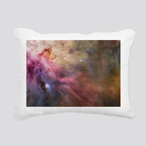 Orion Nebula interior Rectangular Canvas Pillow