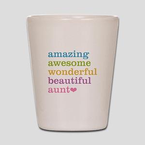 Amazing Aunt Shot Glass