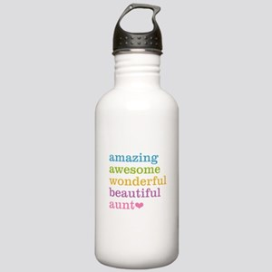 Amazing Aunt Stainless Water Bottle 1.0L