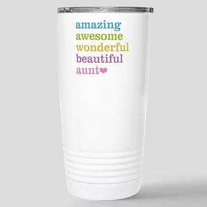 Amazing Aunt Stainless Steel Travel Mug