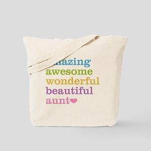 Amazing Aunt Tote Bag