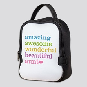 Amazing Aunt Neoprene Lunch Bag
