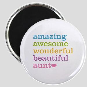 Amazing Aunt Magnet