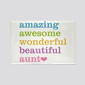 Amazing Aunt Rectangle Magnet