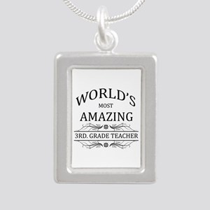 World's Most Amazing 3rd Silver Portrait Necklace