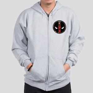 Deadpool Logo Zip Hoodie