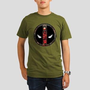 Deadpool Logo Organic Men's T-Shirt (dark)