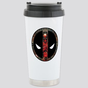 Deadpool Logo Stainless Steel Travel Mug
