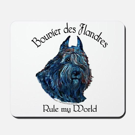 Bouvier des Flandres Rule Mousepad