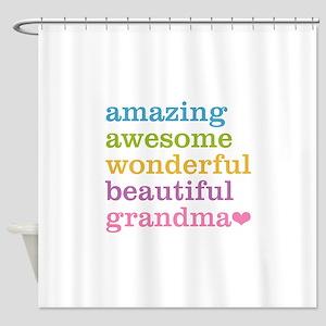 Amazing Grandma Shower Curtain