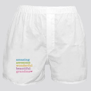 Amazing Grandma Boxer Shorts