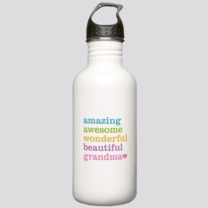 Amazing Grandma Stainless Water Bottle 1.0L