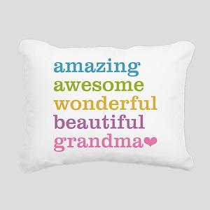 Amazing Grandma Rectangular Canvas Pillow