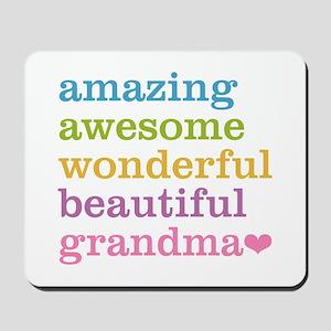 Amazing Grandma Mousepad