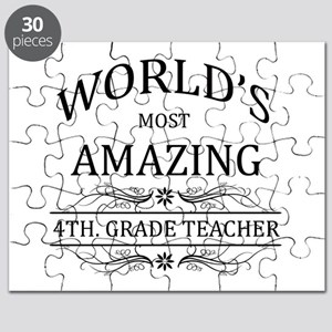 World's Most Amazing 5th. Grade Teacher Puzzle