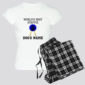 Worlds Best Staffie (Custom) Pajamas