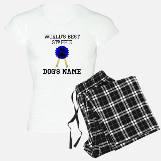 Worlds Best Staffie (Custom) Pajamas