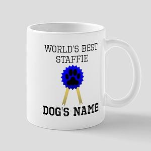 Worlds Best Staffie (Custom) Mugs