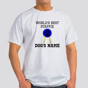 Worlds Best Staffie (Custom) T-Shirt