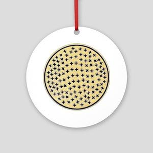 MIMBRES CROSSES BOWL DESIGN Ornament (Round)