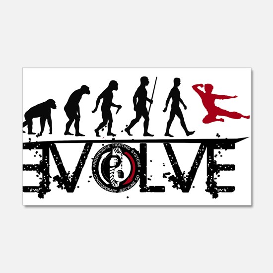 EVOLVE JKD Wall Decal