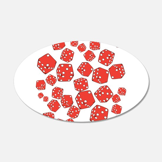 Roll the dice Wall Decal