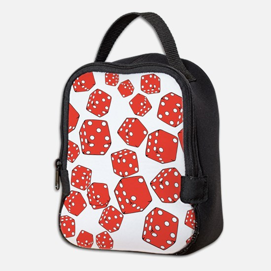 Roll the dice Neoprene Lunch Bag