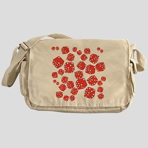 Roll the dice Messenger Bag