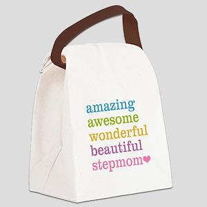 Amazing Stepmom Canvas Lunch Bag