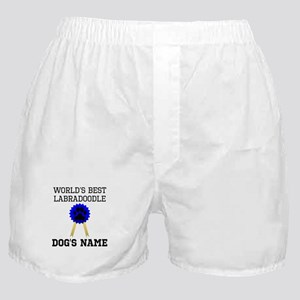 Worlds Best Labradoodle (Custom) Boxer Shorts