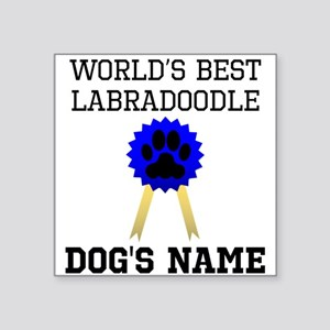 Worlds Best Labradoodle (Custom) Sticker