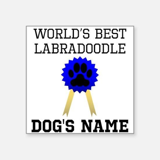 Worlds Best Labradoodle (Custom) Sticker
