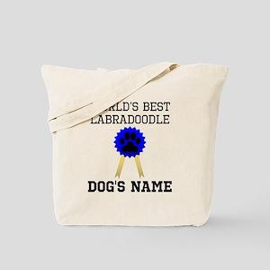 Worlds Best Labradoodle (Custom) Tote Bag
