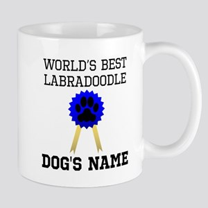 Worlds Best Labradoodle (Custom) Mugs