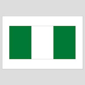flag Nigeria Large Poster