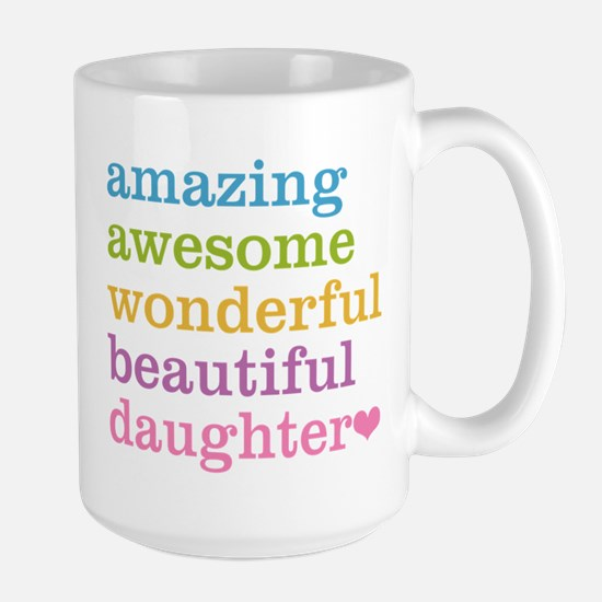 Amazing Daughter Large Mug