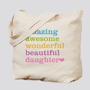 Amazing Daughter Tote Bag