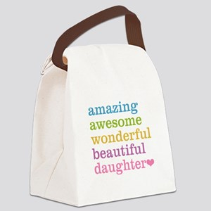 Amazing Daughter Canvas Lunch Bag