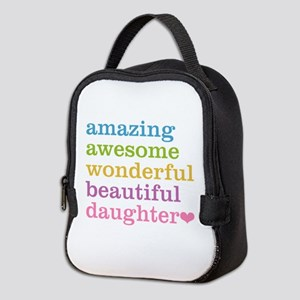 Amazing Daughter Neoprene Lunch Bag