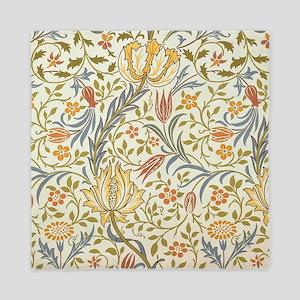 William Morris Flora Pattern Queen Duvet