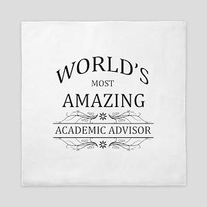 World's Most Amazing Academic Advisor Queen Duvet
