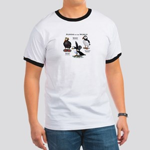 Puffins of the World Ringer T