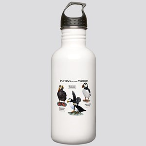 Puffins of the World Stainless Water Bottle 1.0L