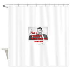 Reagan Evil is Powerless Shower Curtain
