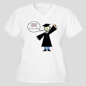 Scott Designs Women's Plus Size V-Neck T-Shirt