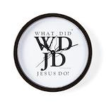 Jesus-WDJD Wall Clock