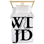 Jesus-WDJD Twin Duvet