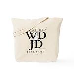 Jesus-WDJD Tote Bag